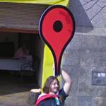 Giant Google Maps Icon