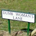 Dumb Woman's Lane (StreetView)