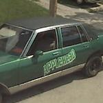 Applehead Car (StreetView)