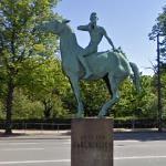 Carl Nielsen Memorial Statue