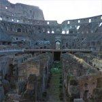 Inside the Roman Coliseum