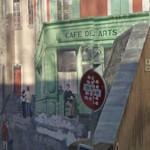 Trompe l'oeil: Café des arts