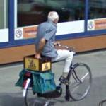 Bicycle Beer Run (StreetView)