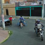 Different modes of transport (StreetView)