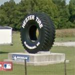World's Largest Real Tire (StreetView)