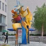 'Epoch' by Albert Paley (StreetView)