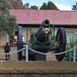 Memorial to 71st Siege Battery at Johannesburg Zoo