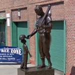 Statue of Ted Williams (StreetView)