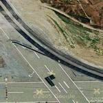 """Matrix Reloaded"" Freeway Chase - Former Naval Air Station (Google Maps)"