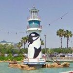 Seaworld Orlando lighthouse (StreetView)