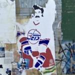 Winnipeg Jets graffiti