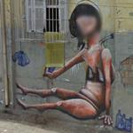 Graffiti by Magrela and Sinha (StreetView)