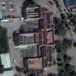 Destroyed parliament of South-Ossetia (Google Maps)