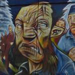 Graffiti mural