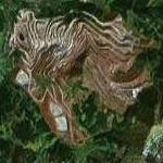Erzberg strip mine (Google Maps)