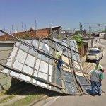 Collapsed Billboard (StreetView)