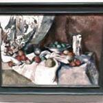 'Still Life with Apples' by Paul Cézanne (StreetView)
