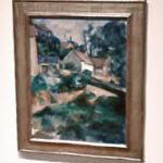 'Turning Road at Montgeroult' by Paul Cezanne