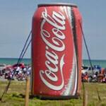 Large Inflatable Coke Can (StreetView)