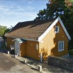 Edvard Munch's summer house (StreetView)