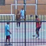 Playing Futsal (StreetView)