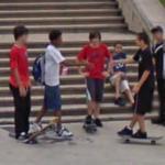 Skateboarders (StreetView)
