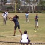 Playing Softball (StreetView)