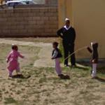 Children jumping rope