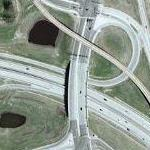 Minnesota State Highway 55/62 Interchange (Google Maps)