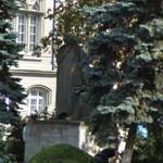 Statue of Janos and Farkas Bolyai