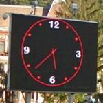 Clock in Brasov