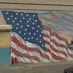 Flag mural (StreetView)