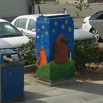 Utility Box Mural (StreetView)