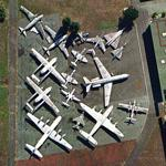 Le Bourget Air and Space Museum airpark (Google Maps)