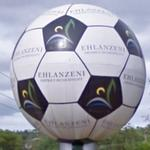 Big football (StreetView)