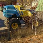 Big Swede monster truck (StreetView)