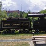Comox Logging Co Locomotive # 11 (StreetView)