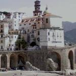 Postcard Picture of Atrani