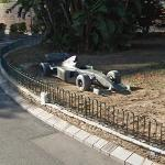 F1 Car Sculpture Monaco (StreetView)
