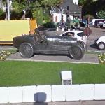 Race Car sculpture in Monaco