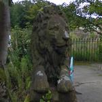 Lion statue (StreetView)