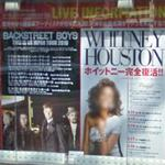 Whitney Houston & Backstreet Boys