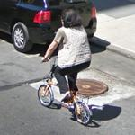 Small wheel bicycle (StreetView)