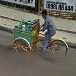 Pedal food cart