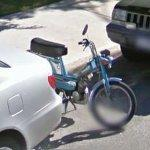 Motorized pedal bike (StreetView)