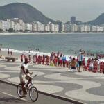 Bicycling in Rio (StreetView)