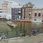 Bicycles in Amsterdam (StreetView)