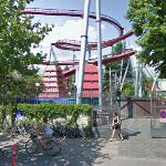 Biking past Tivoli Gardens (StreetView)
