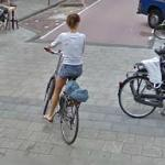 Bicyclist (StreetView)
