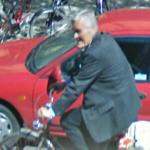Cycling in a suit (StreetView)